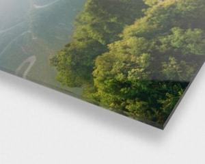 Plexiglass med bilde