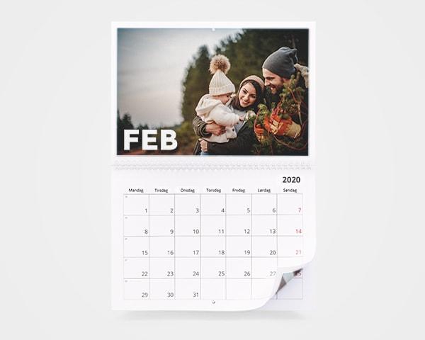 Slik blir dine egne bilder til en unik fotokalender