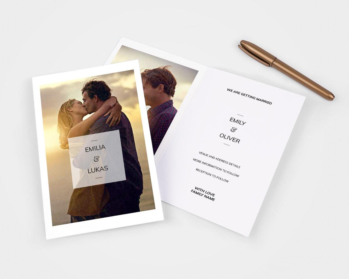 13 ideer til bryllupsinvitasjoner for alle typer feiringer