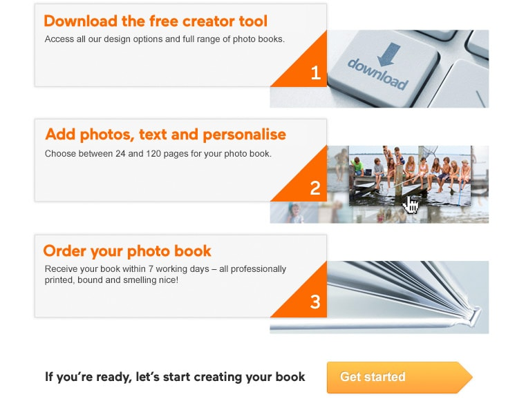Create Photo Book In Three Easy Steps