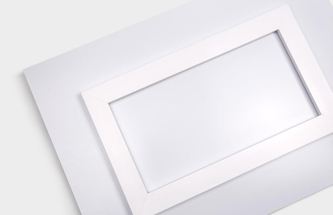 Aluminium Print Hanger