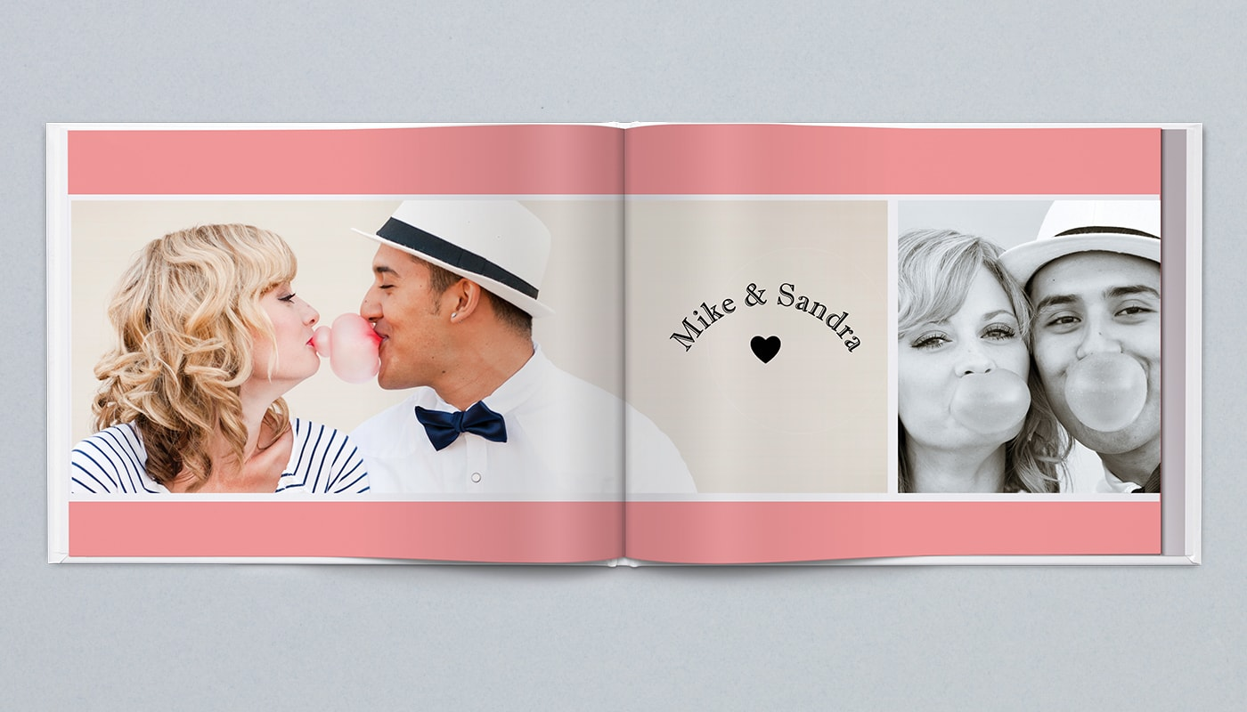 2. Valentine's Day photo book gift for lovers