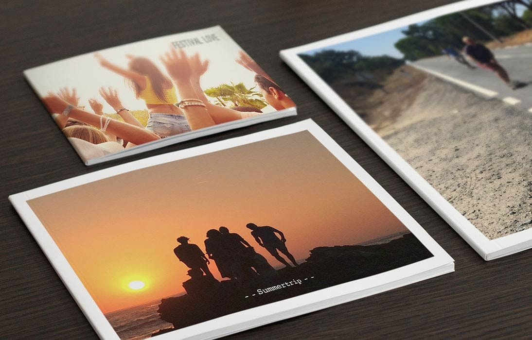 Create your photo book with the Android app