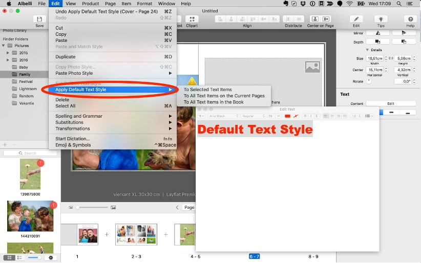 Creator tool update for Mac: version 3 5   bonusprint