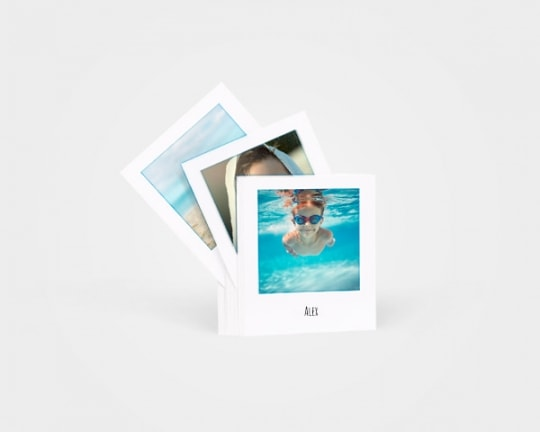 Polaroid photo prints