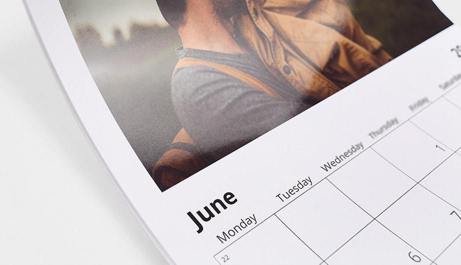 Photography Calendar Printing : Photo calendars personalised start now