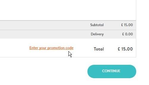 discount code enter