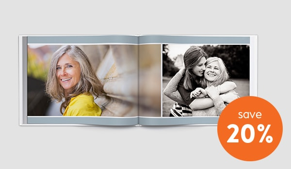 photo book 20% discount