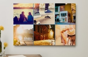 Photo collage wall art 3