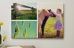 Photo collage wall art 4