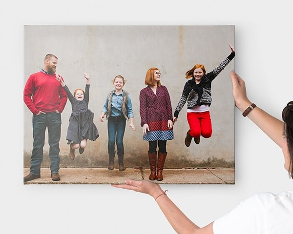 Personalised wall art with your own photos bonusprint