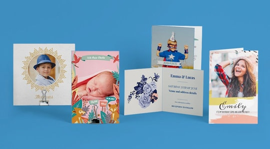 Personalised cards quick and easy start now bonusprint uk personalised cards m4hsunfo