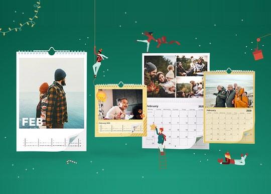 Calendrier Vista Print.Photo Calendars