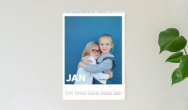 A3 photo calendar